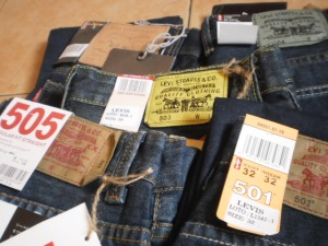 Levis Made in Hong Kong